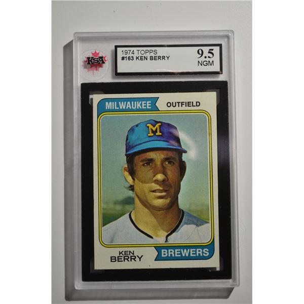 1974 Topps #163 Ken Berry