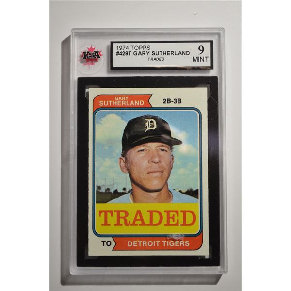 1974 Topps Traded #428T Gary Sutherland