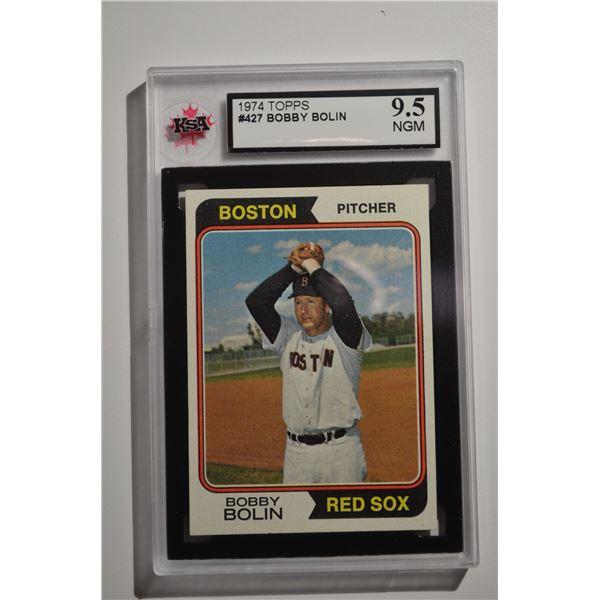 1974 Topps #427 Bobby Bolin