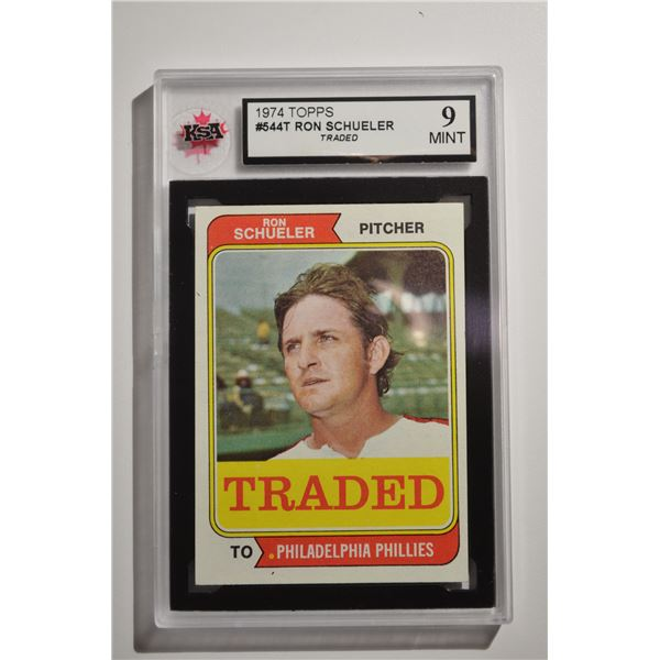 1974 Topps Traded #544T Ron Schueler