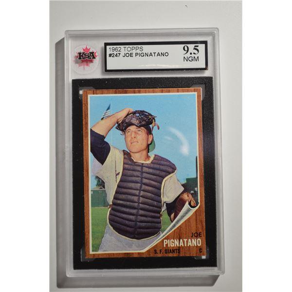 1962 Topps #247 Joe Pignatano