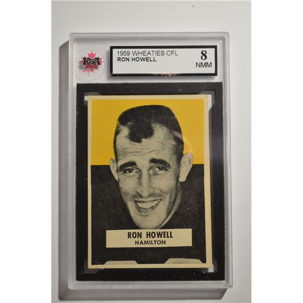 1959 Wheaties CFL #14 Ron Howell