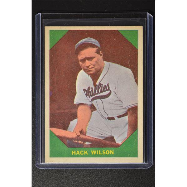 1960 Fleer #48 Hack Wilson
