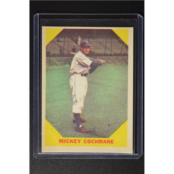 1960 Fleer #24 Mickey Cochrane