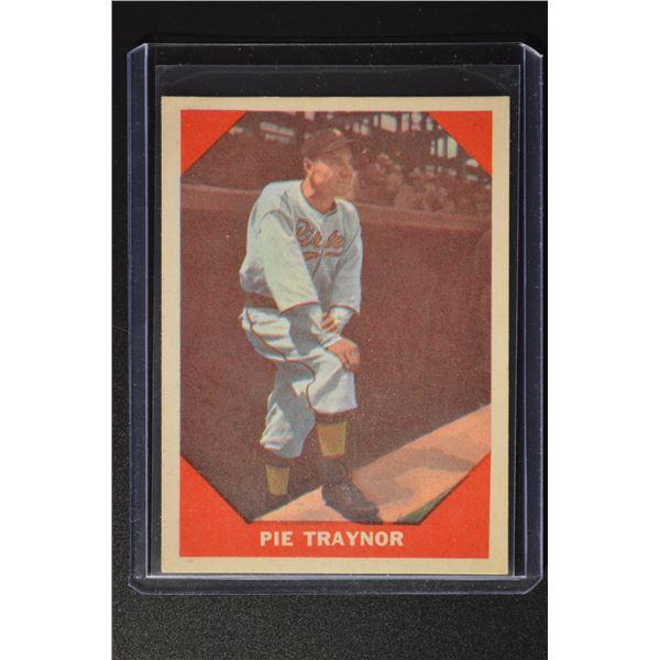 1960 Fleer #77 Pie Traynor