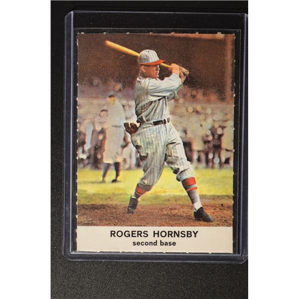 1961 Golden Press #7 Rogers Hornsby