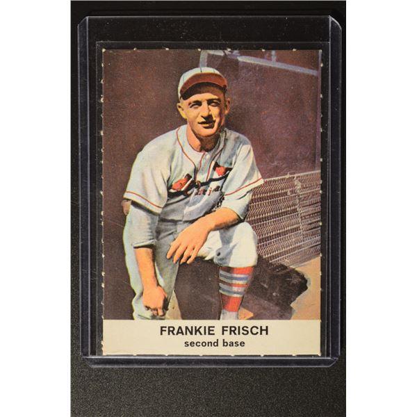 1961 Golden Press #19 Frankie Frisch