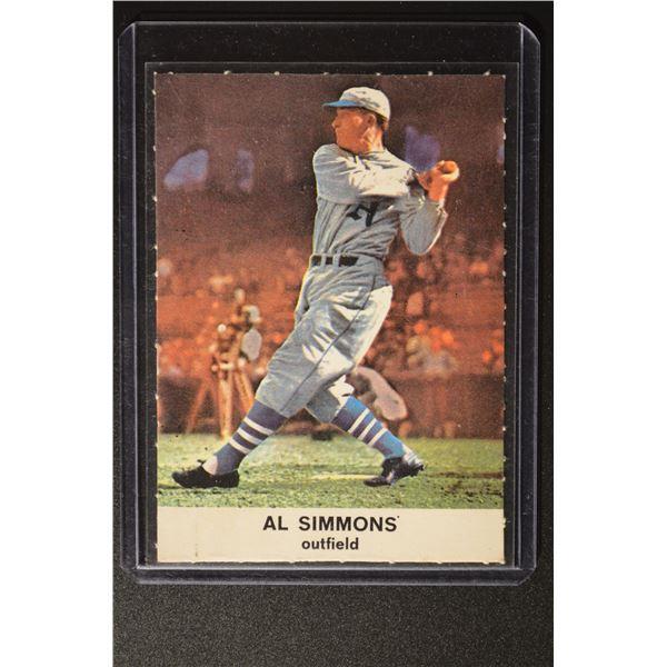 1961 Golden Press #20 Al Simmons