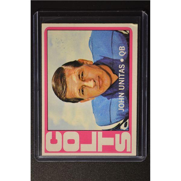 1972 Topps #165 John Unitas