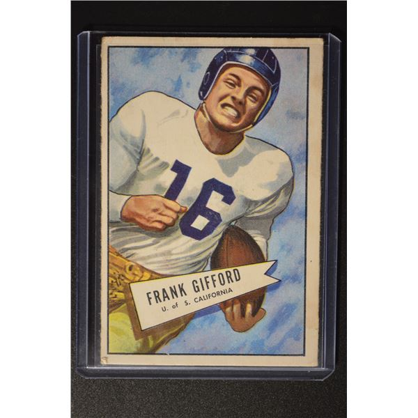 1952 Bowman Large #16 Frank Gifford ROOKIE