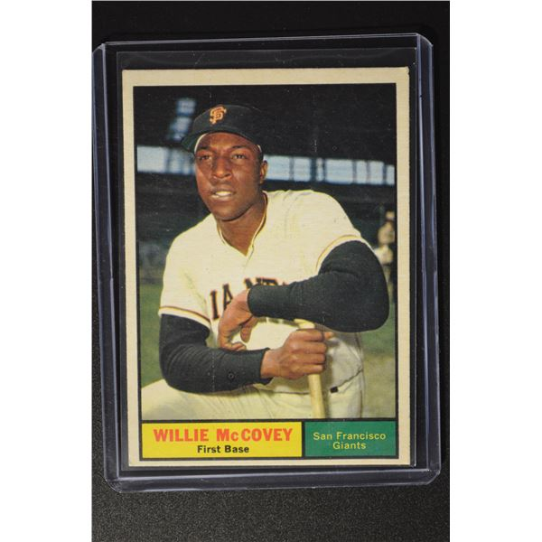 1961 Topps #517 Willie McCovey