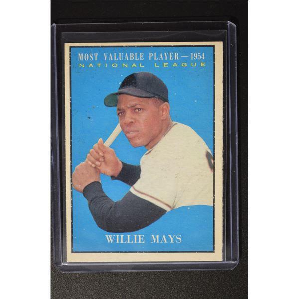1961 Topps #482 Willie Mays MVP