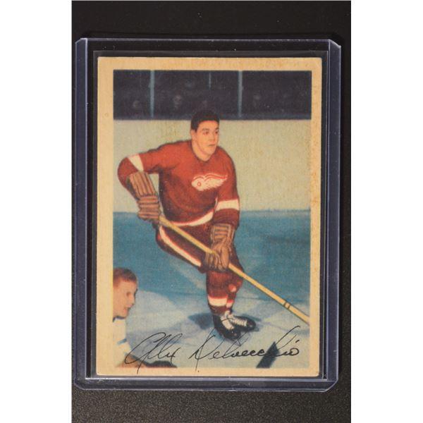 1953-54 Parkhurst #47 Alex Delvecchio
