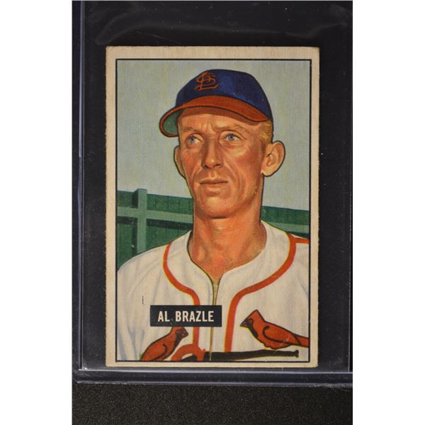 1951 Bowman #157 Al Brazle