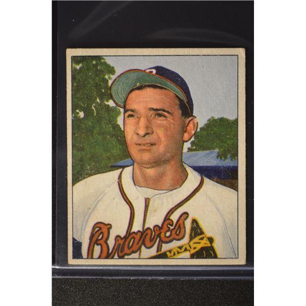 1950 Bowman #109 Sid Gordon