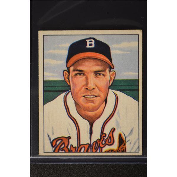 1950 Bowman #193 Pete Reiser