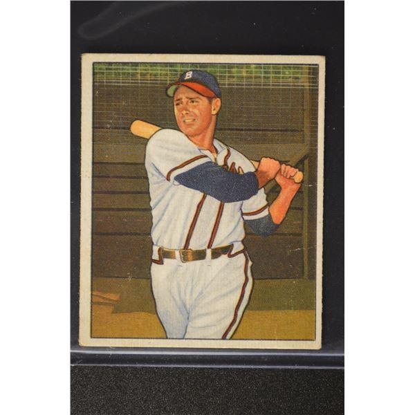 1950 Bowman #164 Sibby Sisti