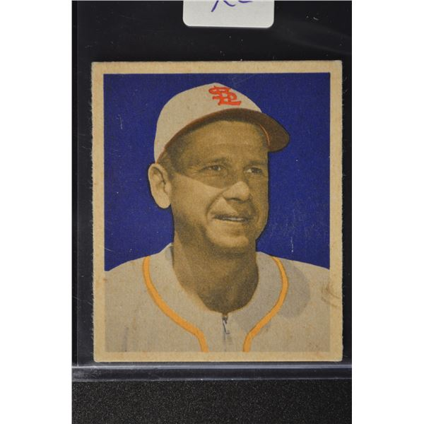 1949 Bowman #4A Jerry Priddy NNOF ROOKIE(no player name on front)