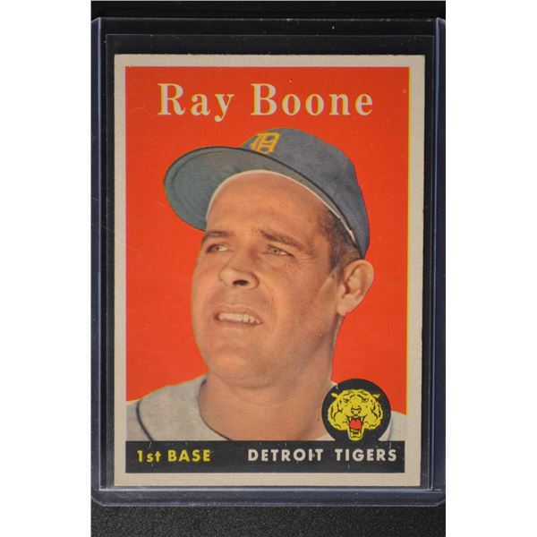 1958 Topps #185 Ray Boone