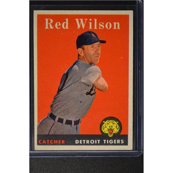 1958 Topps #213 Red Wilson