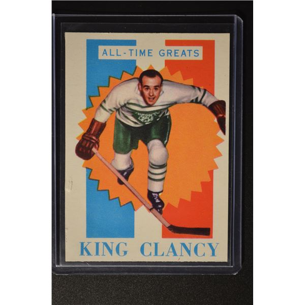 1960-61 Topps #47 King Clancy ATG