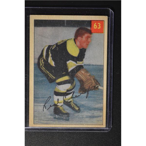 1954-55 Parkhurst #63 Real Chevrefils