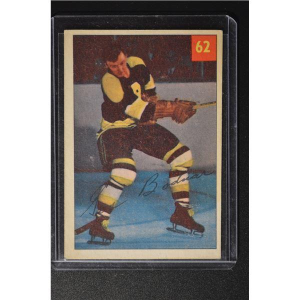 1954-55 Parkhurst #62 Gus Bodnar