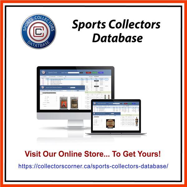 Sports Card & Memorabilia Database