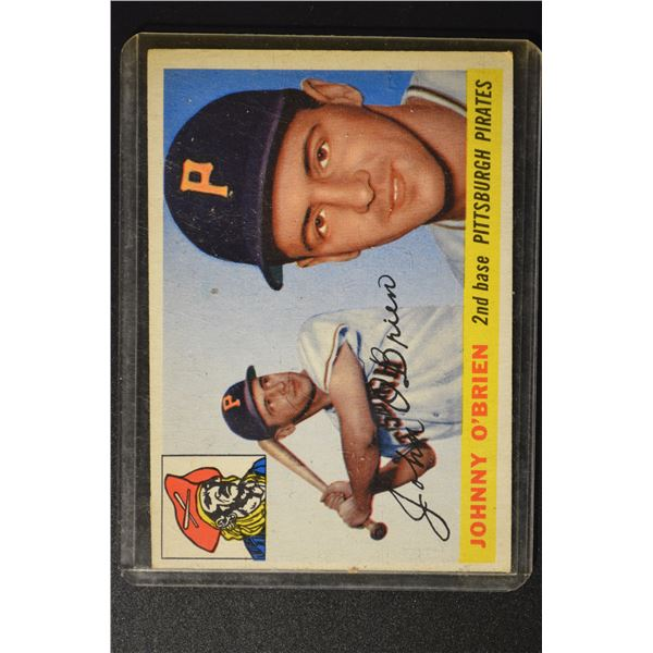 1955 Topps #135 Johnny O'Brien
