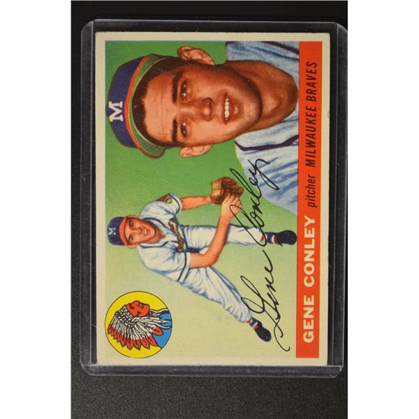 1955 Topps #81 Gene Conley