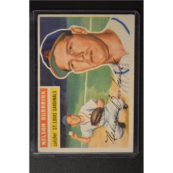 1956 Topps #27 Nelson Burbrink DP ROOKIE