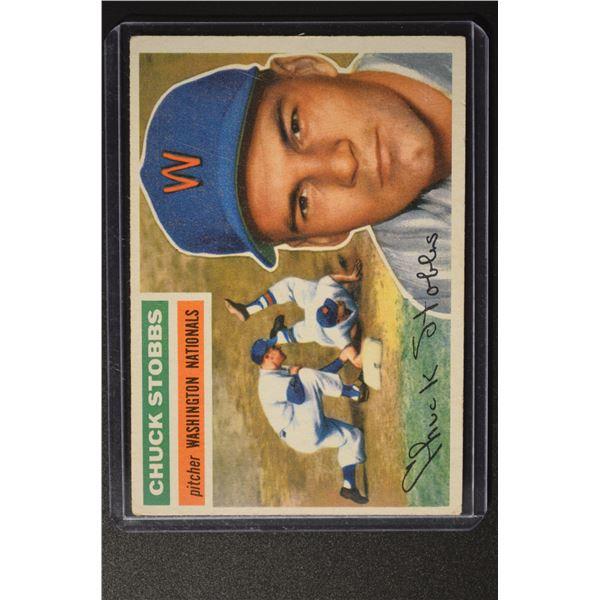 1956 Topps #68 Chuck Stobbs