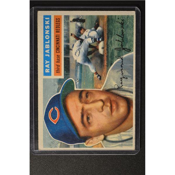 1956 Topps #86 Ray Jablonski DP