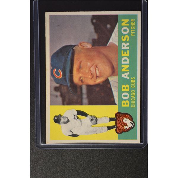 1960 Topps #412 Bob Anderson