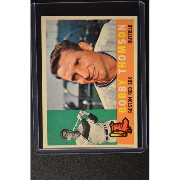 1960 Topps #153 Bobby Thomson
