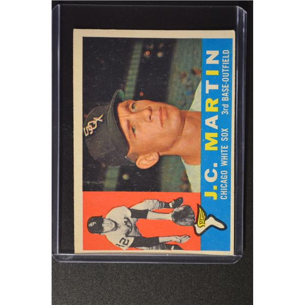 1960 Topps #346 J.C. Martin UER ROOKIE/(Face actually/Gary Peters)