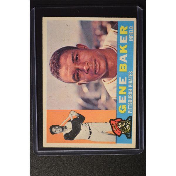 1960 Topps #539 Gene Baker