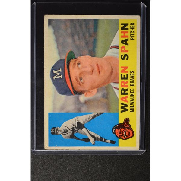 1960 Topps #445 Warren Spahn