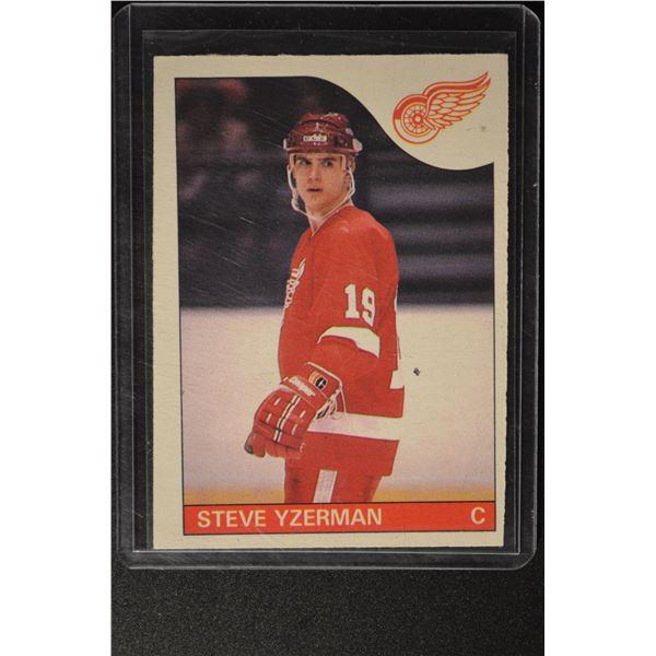 1985-86 O-Pee-Chee #29 Steve Yzerman