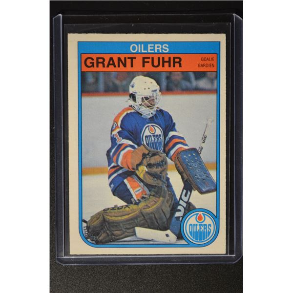 1982-83 O-Pee-Chee #105 Grant Fuhr ROOKIE