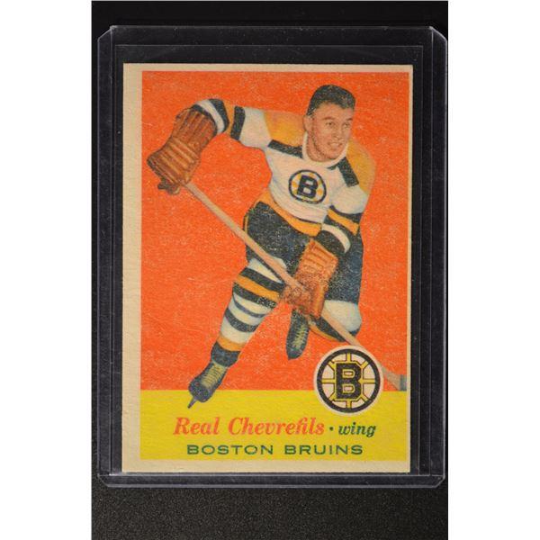 1957-58 Topps #1 Real Chevrefils