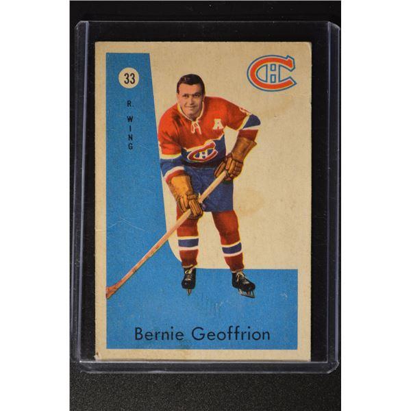 1959-60 Parkhurst #33 Bernie Geoffrion