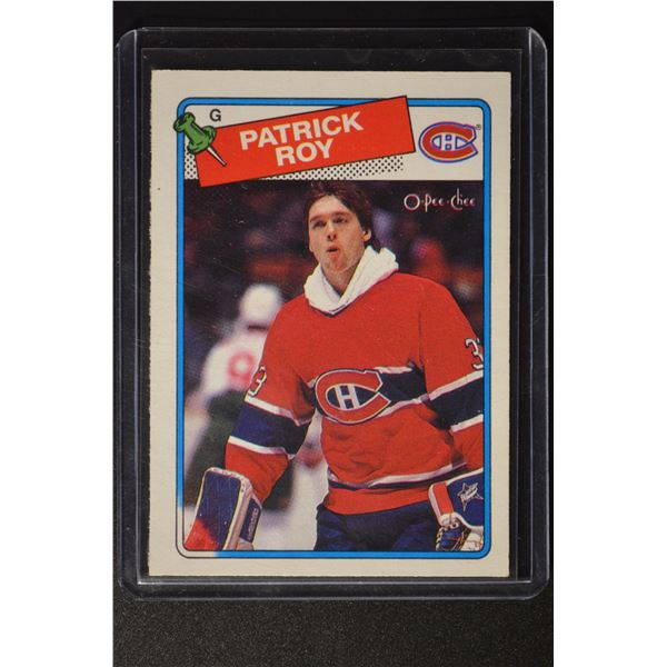 1988-89 O-Pee-Chee #116 Patrick Roy