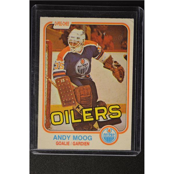 1981-82 O-Pee-Chee #120 Andy Moog ROOKIE