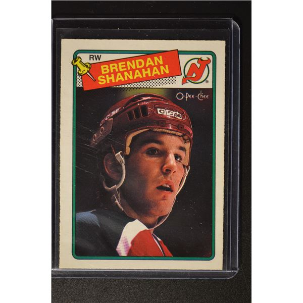 1988-89 O-Pee-Chee #122 Brendan Shanahan ROOKIE