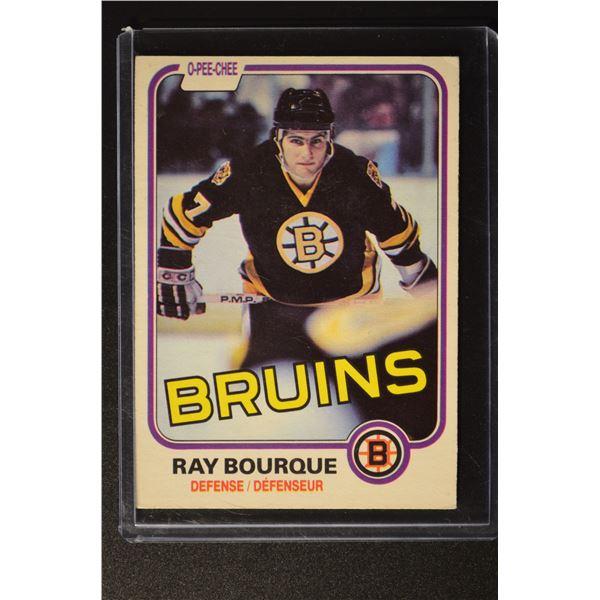 1981-82 O-Pee-Chee #1 Ray Bourque