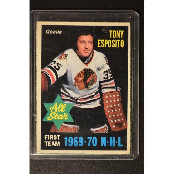 1970-71 O-Pee-Chee #234 Tony Esposito AS1