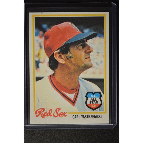 1978 Topps #40 Carl Yastrzemski