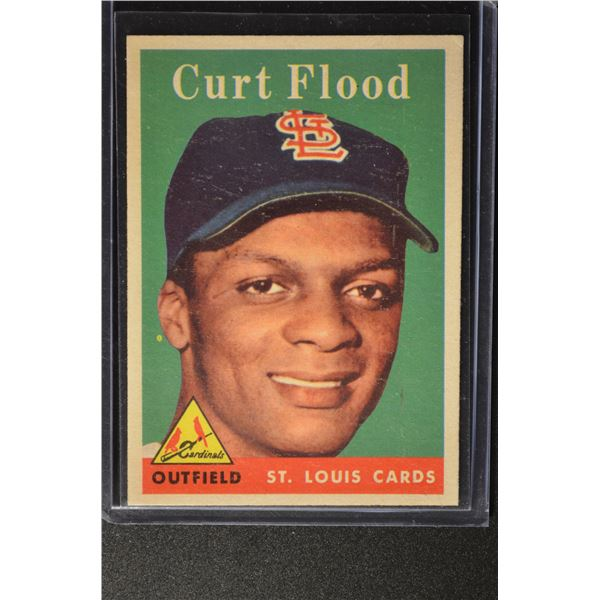1958 Topps #464 Curt Flood ROOKIE