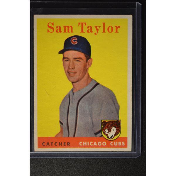 1958 Topps #281 Sammy Taylor ROOKIE